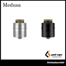 Wholesale Authentic Geekvape Medusa RDTA Atomizer with ml e Juice Capacity with Drip Refill System Extremly Good Looking for the Hot Guy