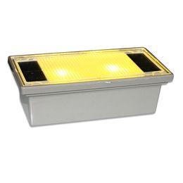 Voies d'aménagement paysager à vendre-Vente en gros à l'épreuve des intempéries chaud blanche LED d'alimentation solaire Underground Light jardin de la lampe de pont Yard éclairage extérieur de paysage Stairway Pathway Lampe