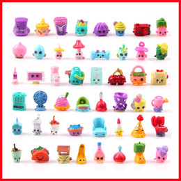 Wholesale Cute Shopping Basket Figures Toys Shopping Toys Season1 Shopping Doll Mixed For Christmas Kids Gifts