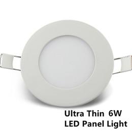 Promotion dans la lumière conduit 6w Lumières de panneau rondes LED 3W 6W 9W 12W plafond de surface plafonnier encastré SMD2835 Down Light Lampe Cuisine Bathroom Channel Lighting
