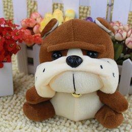 2017 juguete de peluche bulldog Venta al por mayor V-33M, caliente para la venta baratos de tamaño pequeño kawaii divertido relleno cachorro bulldog perro felpa muñeca de juguete suave para la decoración del lecho del niño bebé niña juguete de peluche bulldog baratos