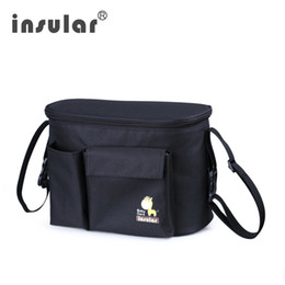Wholesale Thermal Insulation Mommy Bags For Baby Strollers Multifunctional Stroller Bags Waterproof Baby Diaper Bags