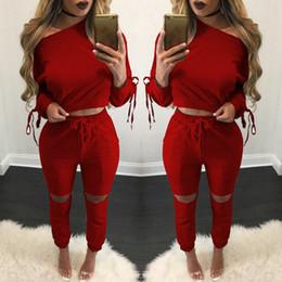 Wholesale 2017 New Arrival Womens Clothing Low Price Casual Wear spring style sweat shirt Print tracksuit women Long Pants Set Sport Suits Cotton Suit