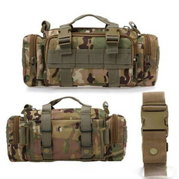 9Colors Utility Tactical Waist Pack Military Camping Hiking Outdoor Sport Adjustable Nylon Waterproof Bag 20pcs Free DHL Fedex