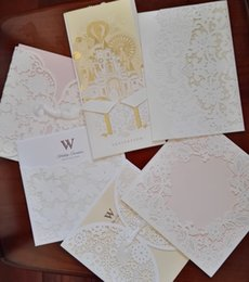 Wholesale Sample of all the invitations online no personalized printing with envelope and seal for one sample