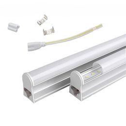 T5 1.2m Integrated 22W Led Tube Lights 96pcs SMD 2835 LED Fluorescent 4FT Tube Light AC 85-277V Warm Cool White