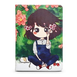 For ipad Air Air 2 case, fashion HD texture printing anti - slip card slot crash shell ipad 6 5 cover