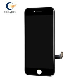 Wholesale 2017 New Product Black White For iPhone LCD Display Touch Digitizer Frame Assembly Repair For iPhone Free DHL Shipping