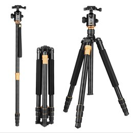 Wholesale New QZSD Q999 Portable Tripod For SLR Camera Tripod Ball Head Monopod Changeable Load Bearing KG