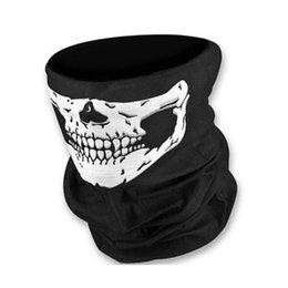 Crâne polyester Sports de plein air joker cyclisme sans soudure changé magie collier hip hop vent chaud masque foulard masque visage de Halloween à partir de polyester tube foulard fournisseurs