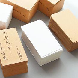 Vente En Gros 100pcs Pack Criture Memo Pad Notebook Business Papier Cartes Papeterie Autocollants Sticky Note Pads Word Cards