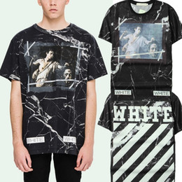 Off-White Tshirt Fear of God 2017 New Fashion High Quality Kanye West Mens T Shirt Hip Hop Short Sleeve Cotton T-shirts