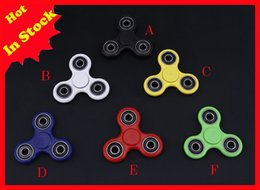 2017 EDC Fidget Spinner toy finger spinner toy Hand tri spinner HandSpinner EDC Toy For Decompression Anxiety Toys Free Shipping