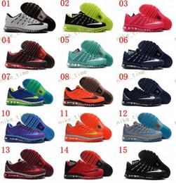 Descuento hombres zapatos nuevos estilos Nuevo estilo Max 2017 II Nanotecnología KPU Zapatillas de deporte para los hombres, zapatillas de deporte deportivas de alta calidad cómodos zapatos deportivos 40-45