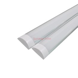High Bright Surface Mounted LED Batten Tubes Lights Double row T8 LED tri-proof Lamps 2ft 20W 4ft 40W explosion led ceiling light AC110-240V