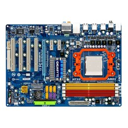 Wholesale Original Motherboard For Gigabyte GA M720 ES3 AMD Socket AM2 AM2 AM3 DDR2 GB NVIDIA nForce D Desktop Motherboard