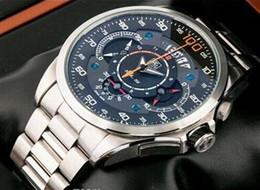 Wholesale New AAA SLS sport quartz men s watch waterproof m sls sapphire watchs Stainless steel bracelet wristwatch Gift watches