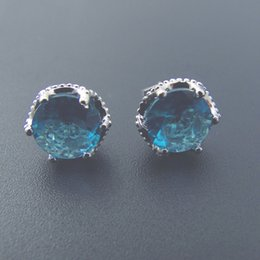 Fashion jewelry stud Earrings Copper rhodium plating elegant gifts DRHP00456E Free Shipping