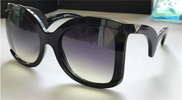 Wholesale new fashion sunglasses women brand designer butterfly frame big fashion frame GA4083 italian designer fashion show Baroque style top quality