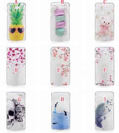 Wholesale Skull Fish Bear Soft TPU Case For Samsung J7 Prime On7 J5 Prime ON5 A3 A5 J3 Pro Floral Fashion Flower Phone Cover
