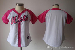 uniforme rouge pour femmes Promotion Vente en gros Femmes Lady Dodgers White Sox Angels New York Mets Brewers Phillies Reds Astros Blanc Blanc Rose Maillots de baseball Uniformes cousus