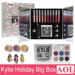 Wholesale 2017 Newest Kylie Cosmetics Holiday Collection Big Box PREORDER INTERNATIONAL Holiday Collection big box in stock DHL