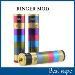 Fuhattan v2 en Ligne-Manhattan AV Mods E Modules de cigarette Raibow AV Manhattan Ringer Mod 22mm Diamètre 510 Thread VS Fuhattan V2 mods