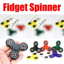 Wholesale High Quality Anti Anxiety Spinner Helps Focusing Fidget Toys Premium EDC Focus Toy for Kids Adults HandSpinner Gyro With Retail Bo