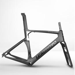Wholesale 2017 CO Nouveau Cadre de vélo de route de carbone Conept cadre noir brillant vélo Cadre de vélo vélo de carbone UD XXS XS S M L XL disponible