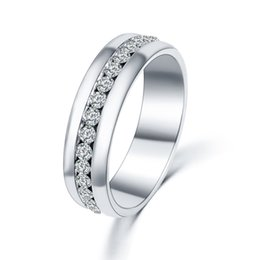 Wholesale The new foreign trade sales lady clip drill contracted fashion luxury ring ring ring ebay manufacturers supply