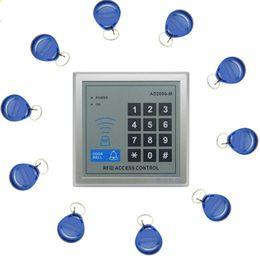 Promotion entrée de la porte de sécurité Wholesale-1set électronique RFID Proximité entrée porte verrouillage système de contrôle d'accès avec 10 porte-clés