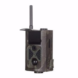 Cámara de caza HC500M HC-500M Scouting infrarrojos 12MP HD 1080P 2G GSM MMS GPRS SMS cámara Trail Trail desde la caza cámara de exploración gsm fabricantes