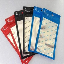 1000pcs 18*10cm Zip lock packing bag aluminum plastic PP OPP PVC Poly gift packaging bag for mobile phone accessory