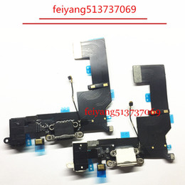 20pcs 100% New For iPhone SE Charger Charging Port USB Dock Connector Headphone Audio Jack Flex Cable