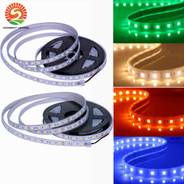 Wholesale High bright SMD Silicone Tube led strips IP67 waterproof RGB Flexible strip M Roll Leds DC V led outdoor christmas lights
