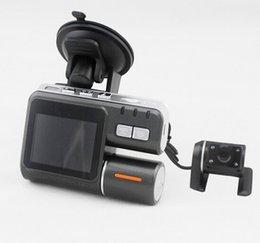 """Cámaras de lentes de porcelana en venta-I1000 2.0 """"TFT LCD Car DVR G-sensor de 120 grados Lens Radio grabadora cámara de coche"""