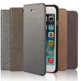 10pcs Wallet leather PU TPU Hybrid Soft Case Folio Flip Cover for iPhone 6 6s 6 Plus with Package