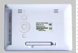 Acheter en ligne Usb chaud lecteur flash-Livraison gratuite DHL Hot vendant 7 pouces 800 * 480 HD LCD écran photo numérique Mp3 MP4 fonction de soutien 4 Go 8 Go 16 Go SD Card USB Flash Drive
