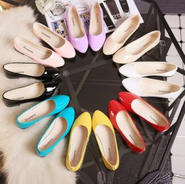 Candy Colors Women's Flats 2017 New Arrival 8 Colors Shoes Women Summer Spring Casual Sport Work Plus Size Females Shoes