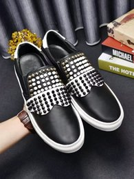 Wholesale Fashion arrivals mens rivets brand germany low shoes