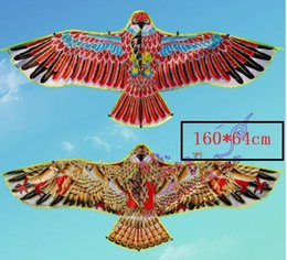 Wholesale New Toysbrand cm Huge Eagle Kite With String And Handle Novelty Toy Kites Eagles Large Flying For Gift