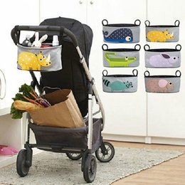 Wholesale Baby Stroller Accessories Pouch Baby Carriage Pram Cart Bottle Diaper Bag Polyester Newborn Nappy Bag Waterproof Mummy Bags