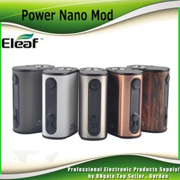 Wholesale Original Eleaf iStick Power Nano W TC Box Mod mah Battery VW Bypass Smart TC Vaping Modes Dual Circuit Protection Genuine