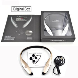 HBS-900 Wireless Sport Neckband Headset In-ear Headphone Bluetooth Stereo Earphones Headsets For LG HBS-900 iphone 7 6S Samsung S8 plus S7