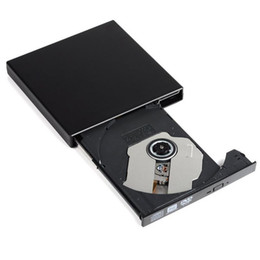 Wholesale Home Slim Portable USB External DVD CD Player Drive CD R Writer Burner For Notebooks Laptops Desktops