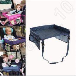 Wholesale Baby Toddler Ceinture de sécurité pour voiture Travel Play Tray Table pliable étanche Baby Car Seat Cover Harnais Buggy Poussette Snack CCA5429