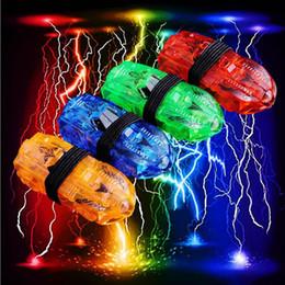 2017 laser conduit doigts Forme de voiture LED Finger Lights Glowing Dazzle Laser couleur émettant Lampes Noël Fête de mariage Fête F2017399 peu coûteux laser conduit doigts
