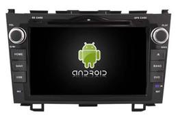2017 tuner audio vidéo 4G lite 2GB RAM Android 6.0 quad-core voiture lecteur dvd gps multimédia audio audio sans fil pour Honda CRV 2006-2011 magnétophone stéréo navi tuner audio vidéo ventes