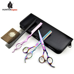 "6"" professional hairdressing Scissors Hair Cutting Scissor and thinning shear for barber hairdresser using shears tools"