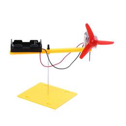 Wholesale Set Rotary Wing Physics Experiment Equipment Set Science Toys DIY Manual Model Assembly Atmospheric Mechanics Demo Model K5BO